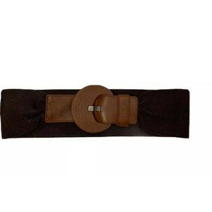 Aldo Women's Large Brown Leather Blend Buckle NEW